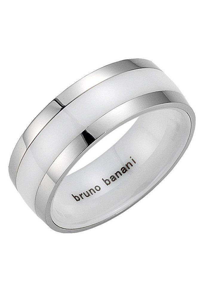 Partnerschmuck: Partnerring, Bruno Banani, »42/84173-0, 44/84173-0« in weiß
