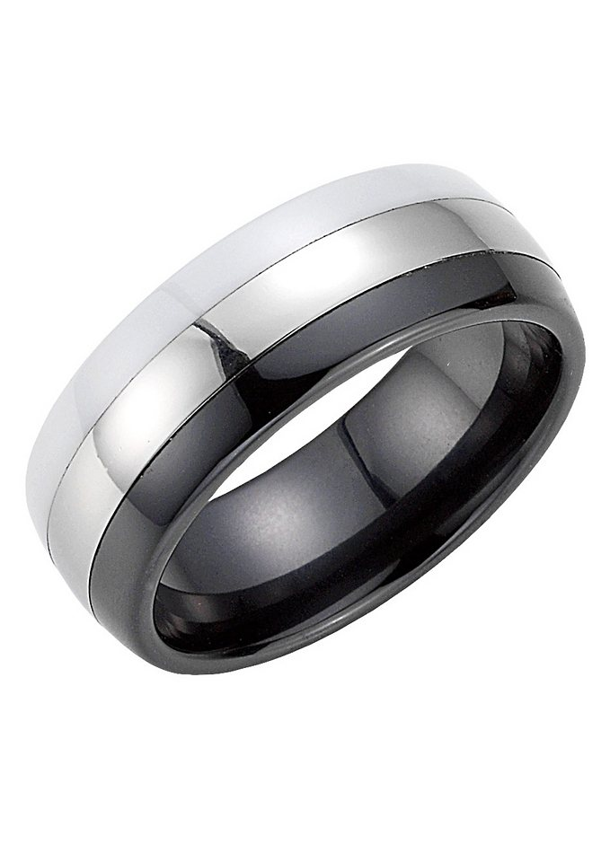 Partnerschmuck: Partnerring, Bruno Banani, »42/84168-0, 44/84168« in synth.