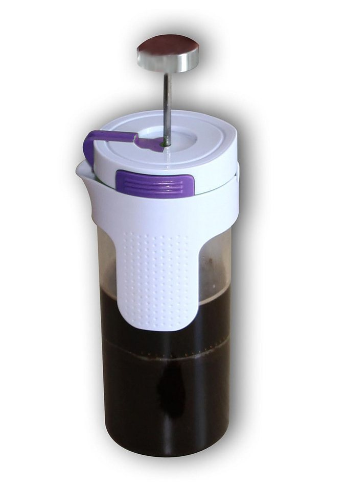 2in1 Tee- und Kaffeezubereiter, STONELINE® in lila