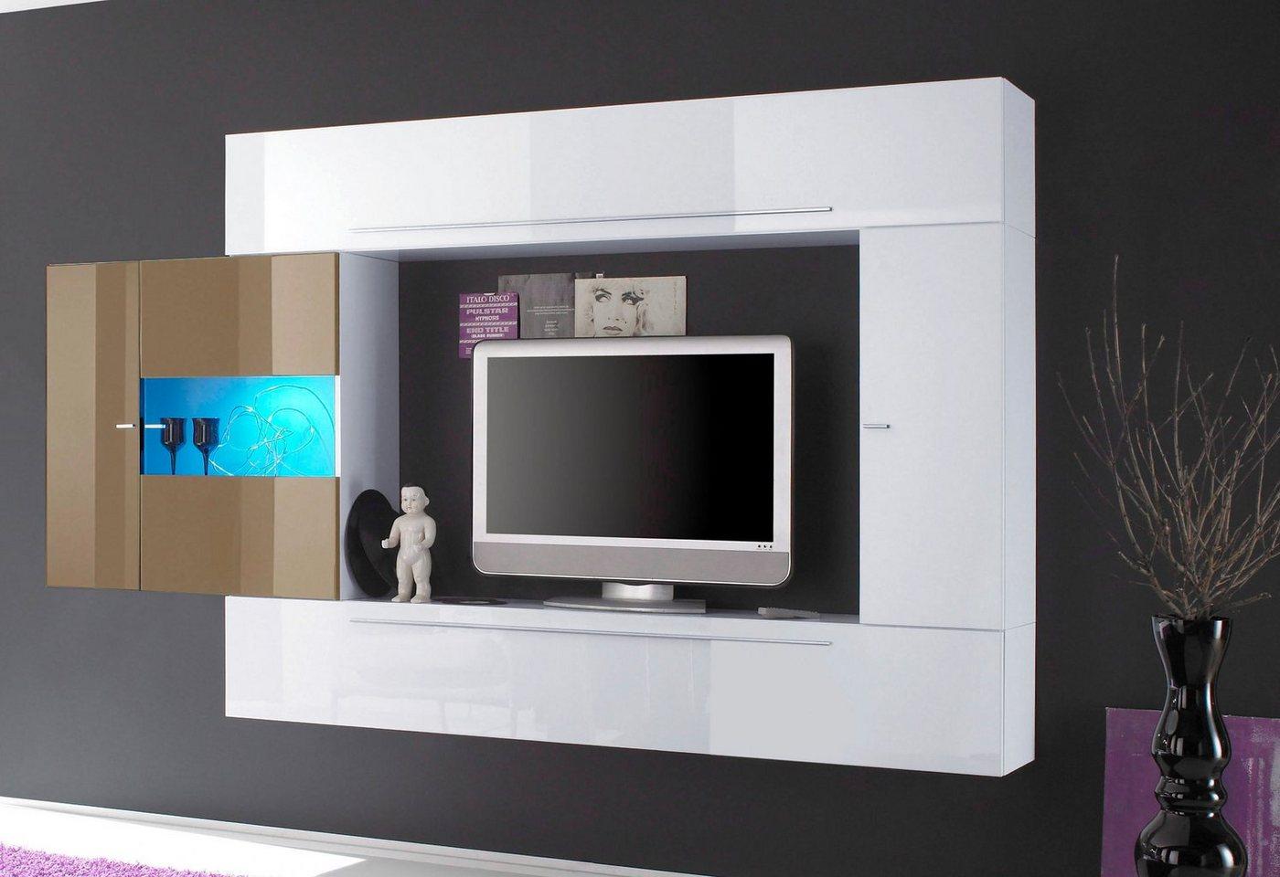 Wohnwand Gro?er Fernseher : TV Wand  Preisvergleiche, Erfahrungsberichte und Kauf bei Nextag