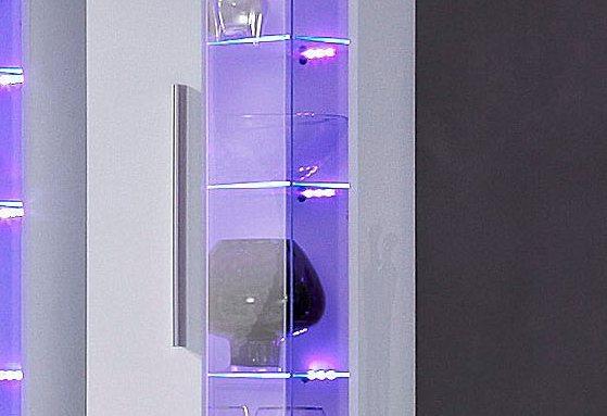 RGB-LED-Glaskantenbeleuchtung, HLT in bunt