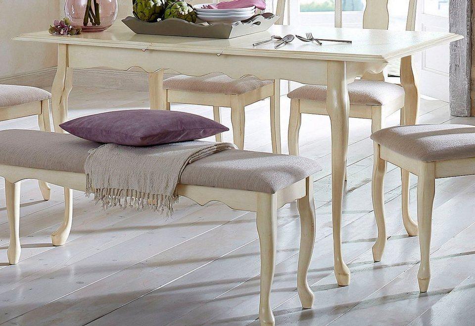 tisch home affaire ausziehbar in 2 gr en otto. Black Bedroom Furniture Sets. Home Design Ideas