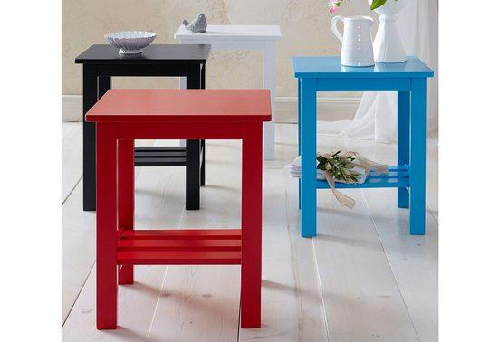 Home affaire Beistelltisch »Trendy«  in unterschiedlichen Farbvarianten  Breite 40 cm