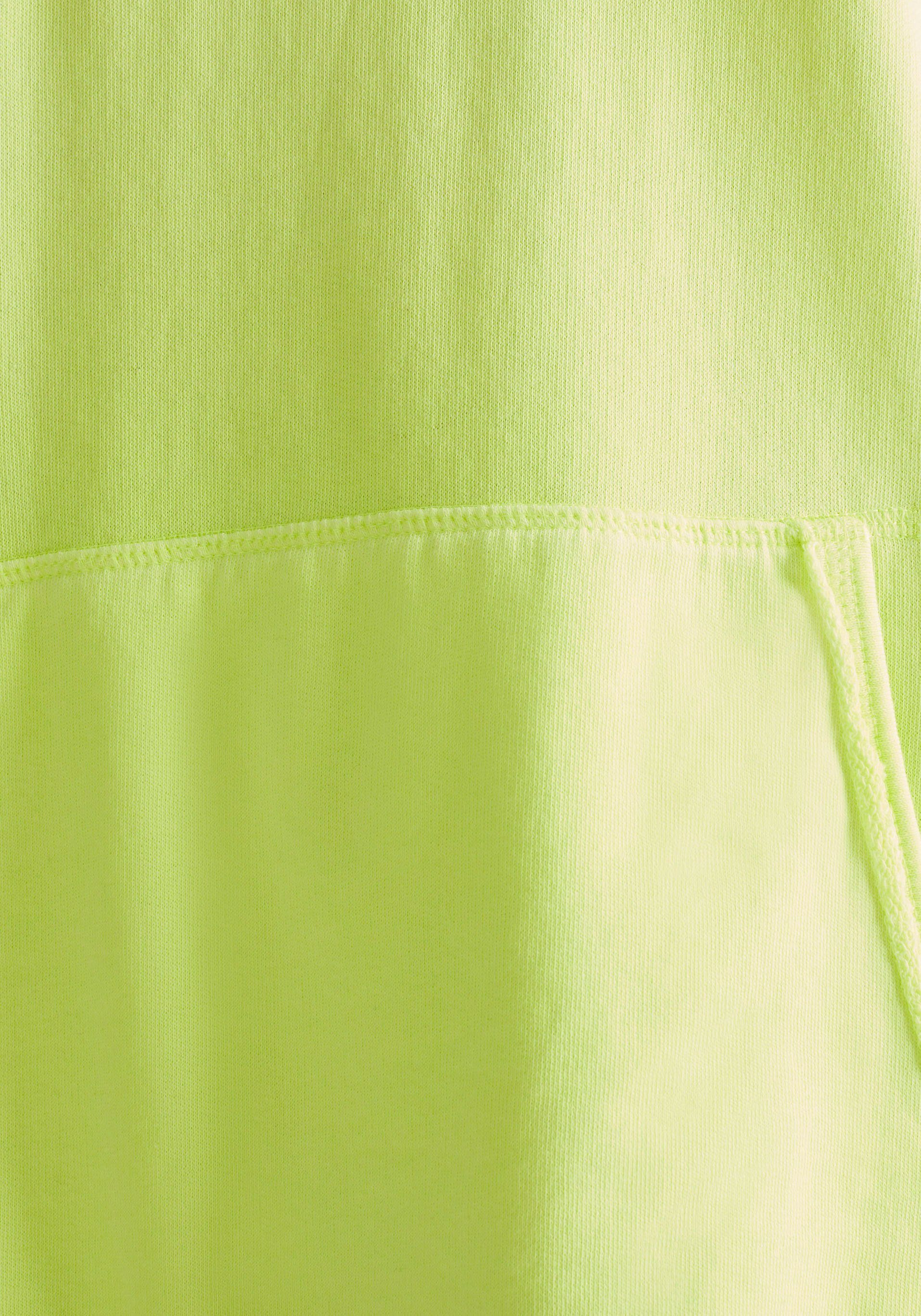 edc by Esprit Sweatkleid mit Regenbogentape auf der Schulter