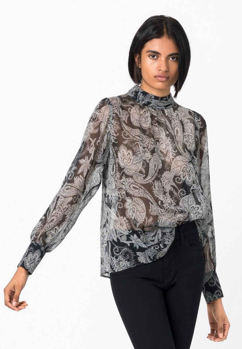 HALLHUBER Shirtbluse »mit Paisley-Print«