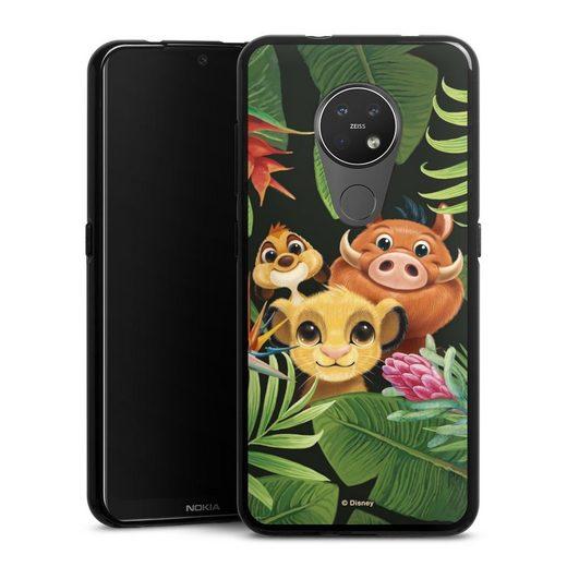 DeinDesign Handyhülle »Simbas Friends« Nokia 7.2, Hülle Disney Simba Timon und Pumbaa