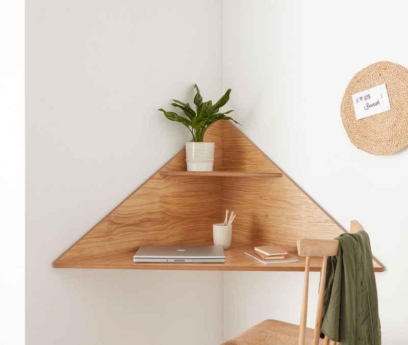 OTTO products Eckschreibtisch »Annik«, Designed by Michael Hilgers, praktischer Laptoptisch, Home office