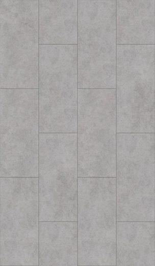 PARADOR Vinylboden »Trendtime 5.50 - Beton Grau«, 90,4 x 39,6 cm, Stärke 5 mm, 2,1 m²