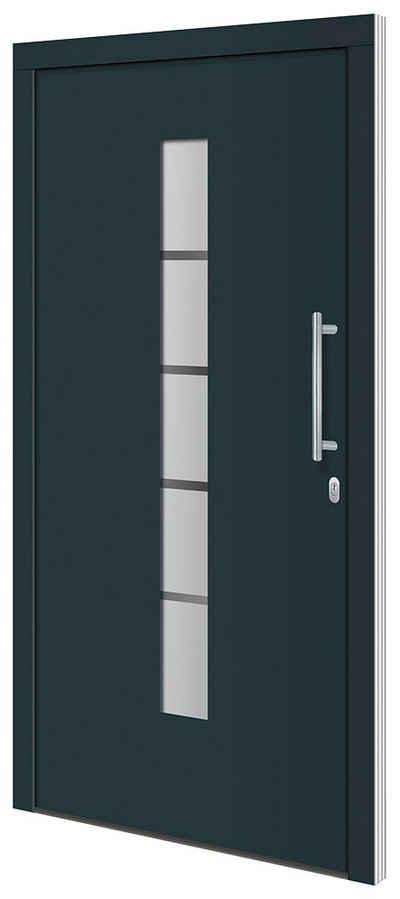 RORO Türen & Fenster Haustür »Otto 2«, BxH: 110x210 cm, anthrazit/weiß, ohne Griff