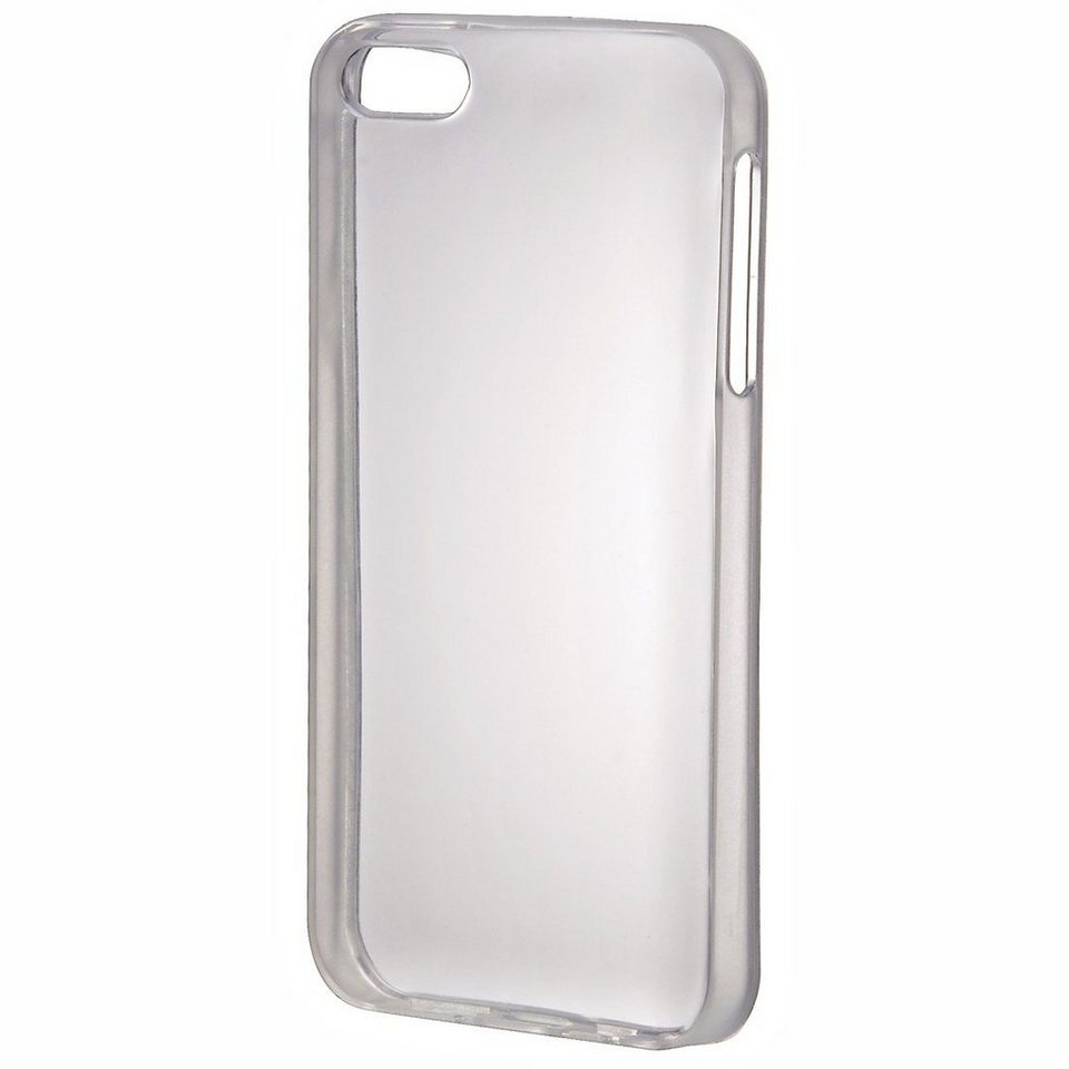 Hama Handy-Cover TPU Light für Apple iPhone 5/5s/SE, Transparent in Transparent