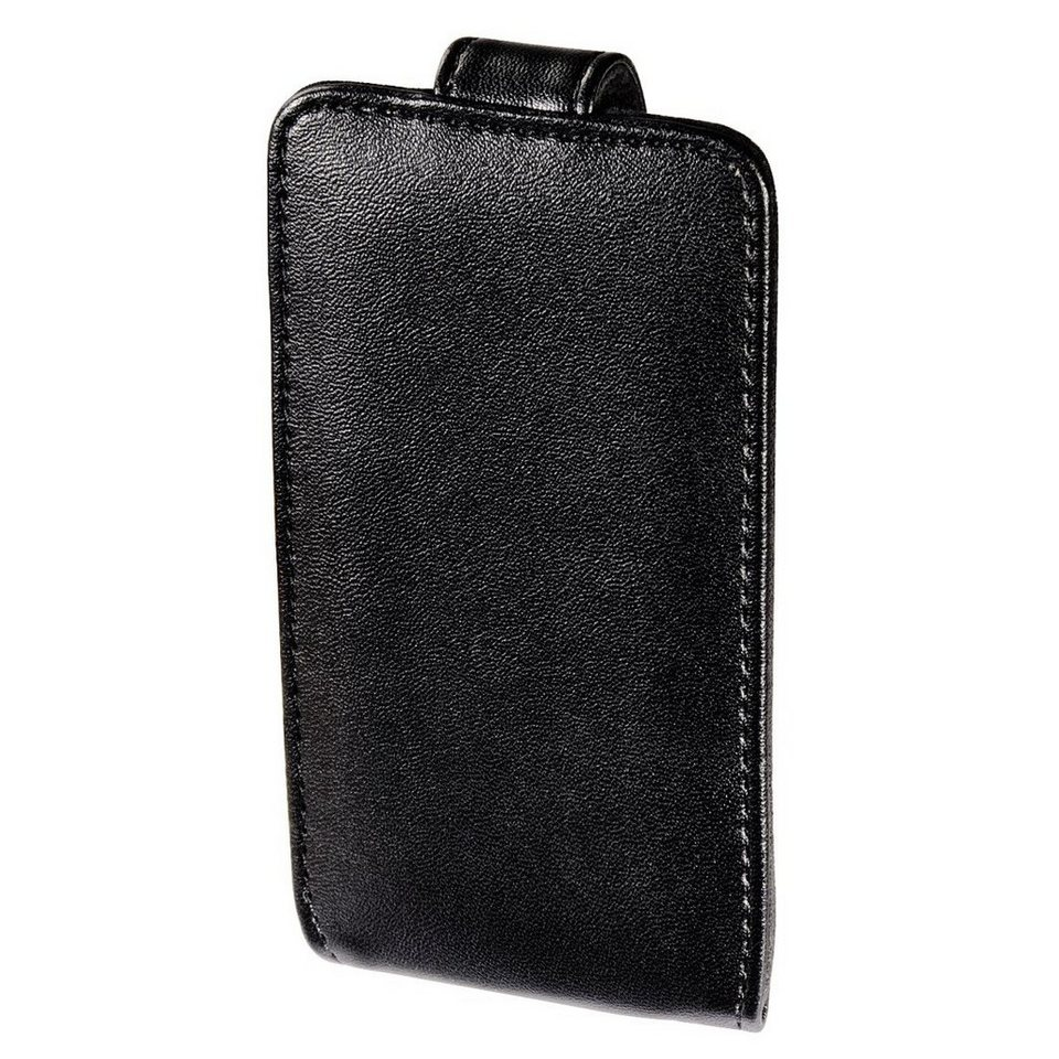 Hama MP3-Fenstertasche Flip Case für iPod touch 5G/6G, Schwarz in Schwarz