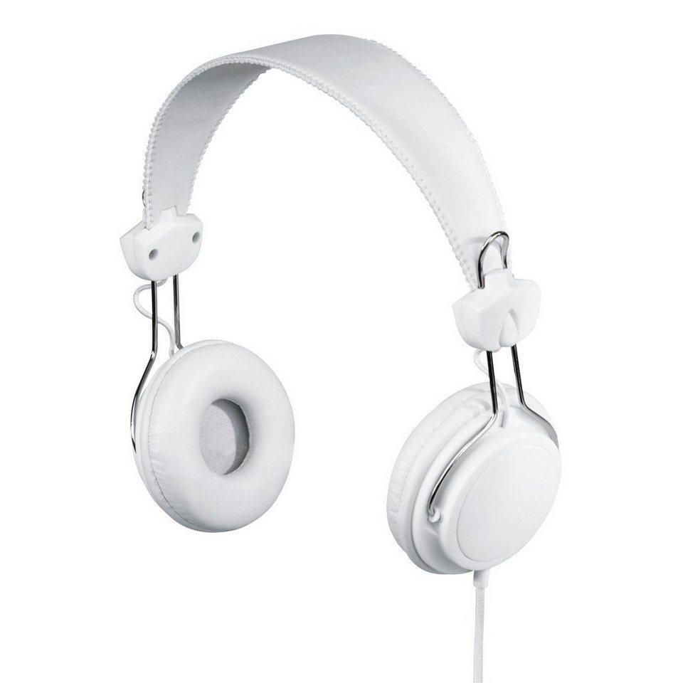 Hama Stereo-Kopfhörer Joy, Weiß in Weiß