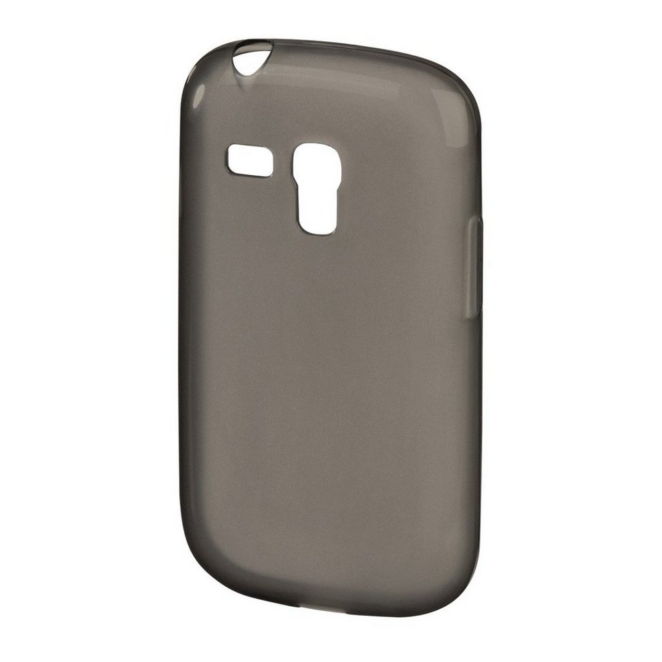 Hama Handy-Cover Crystal für Samsung Galaxy S III mini, Grau in Grau