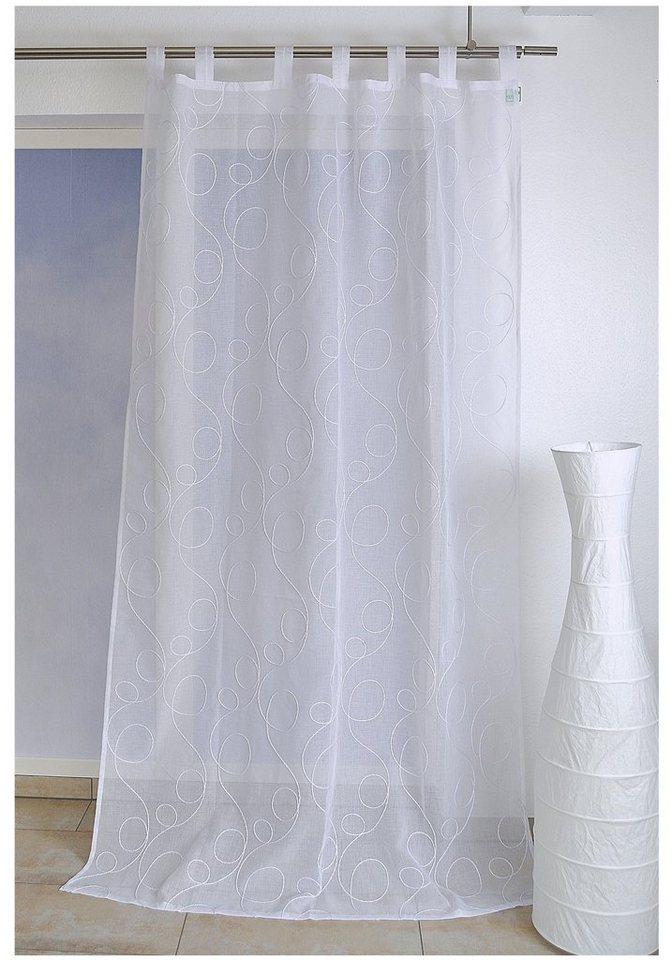 vorhang jasmin home affaire collection 1 st ck online kaufen otto. Black Bedroom Furniture Sets. Home Design Ideas
