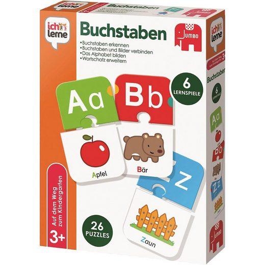 Jumbo Lernspielzeug »Ich lerne - Buchstaben«