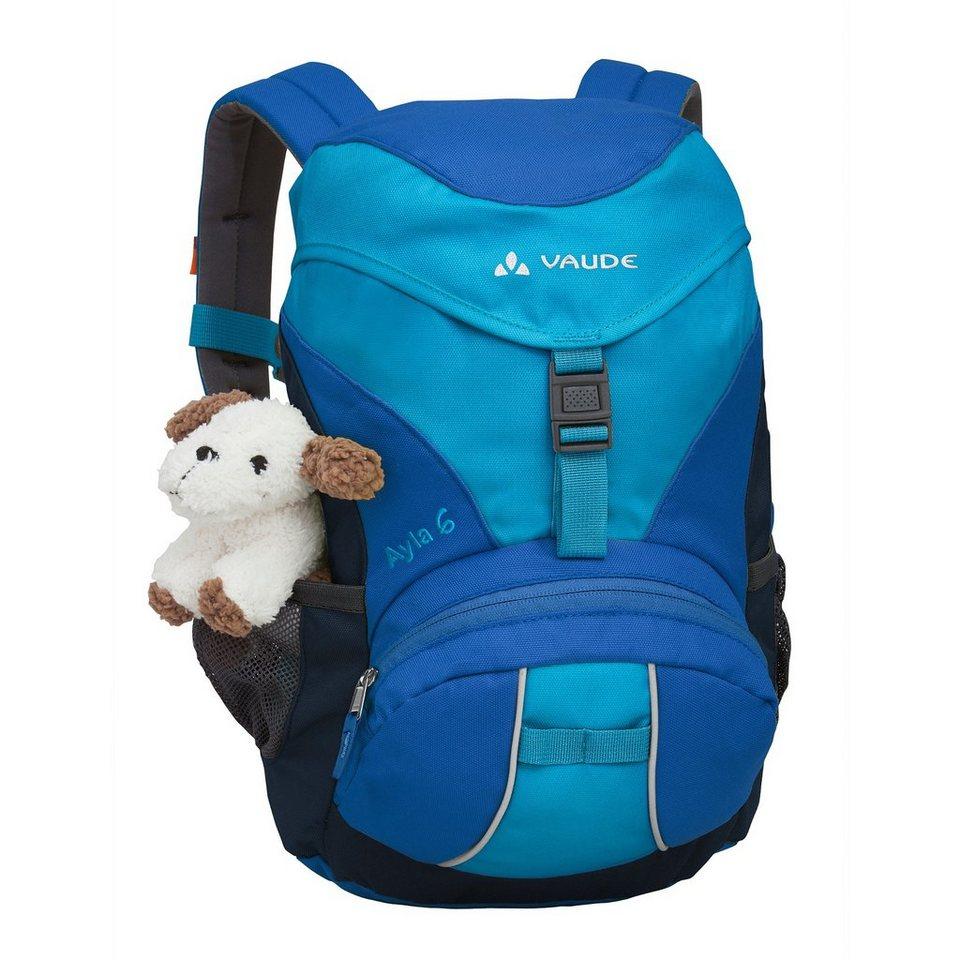 VAUDE Sport- und Freizeittasche »Ayla 6 Backpack Kids« in blau