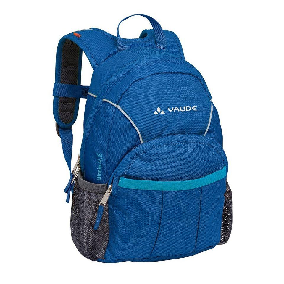 VAUDE Sport- und Freizeittasche »Minnie 4,5 Backpack Kids« in blau