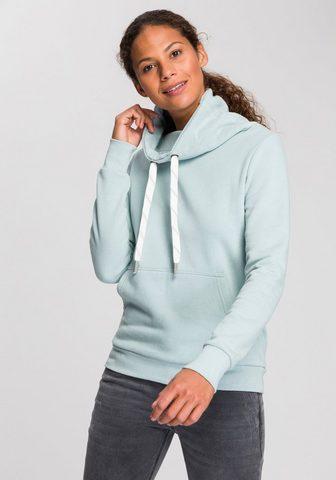 KangaROOS Sportinio stiliaus megztinis su aukšta...