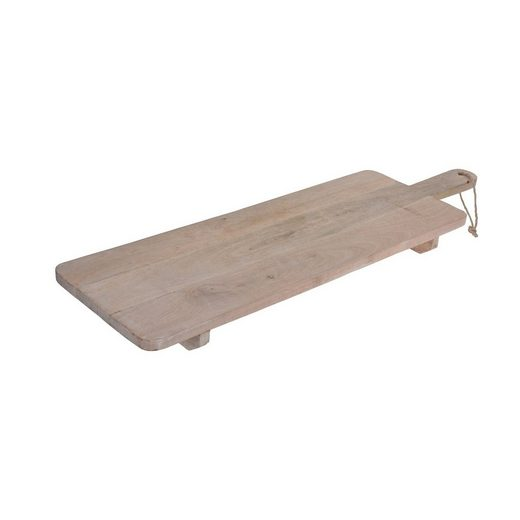 HTI-Living Servierbrett »Servierbrett mit 2 Füßen«, Holz