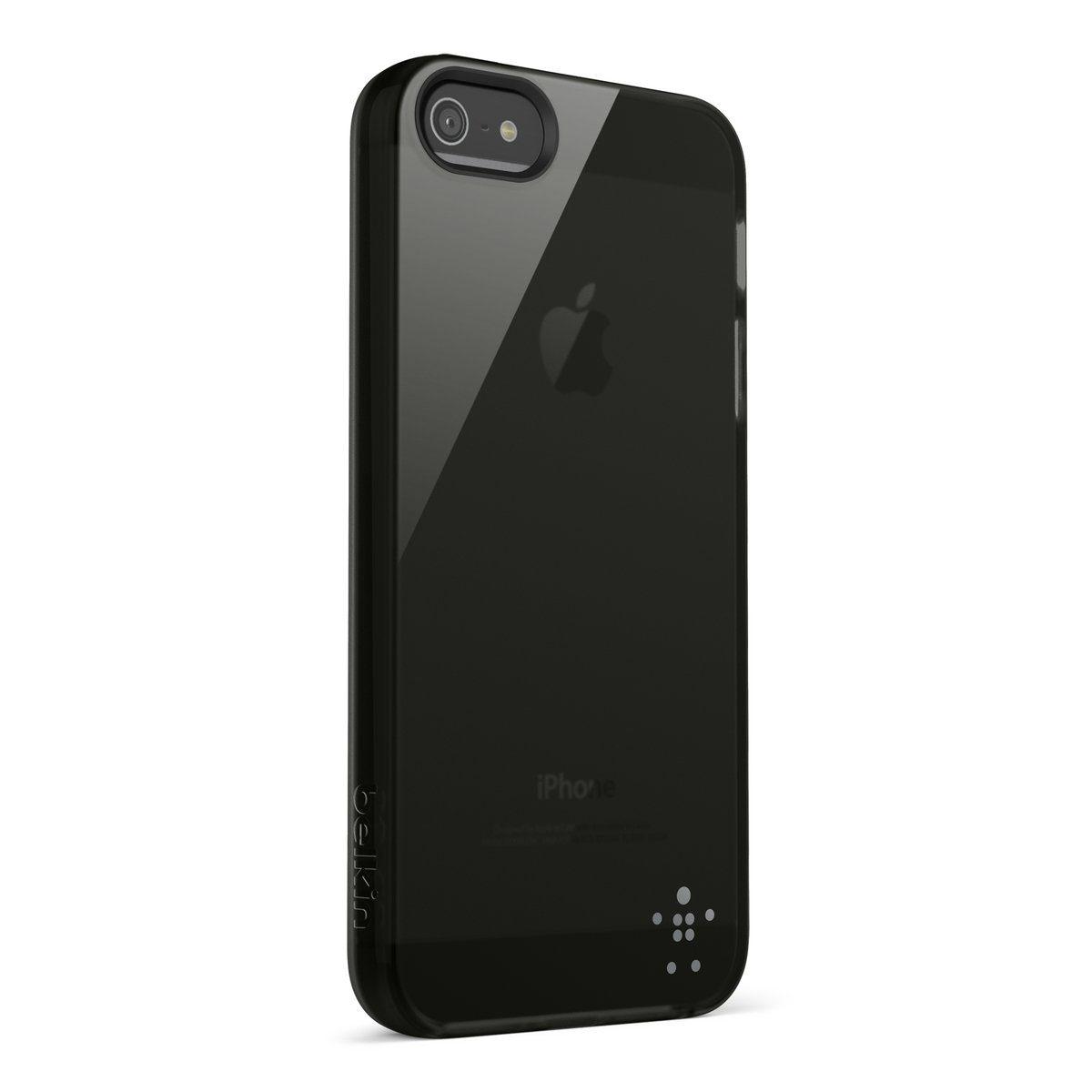 Belkin Handytasche »Grip Sheer TPU für Apple iPhone 5/5S, Schwarz«