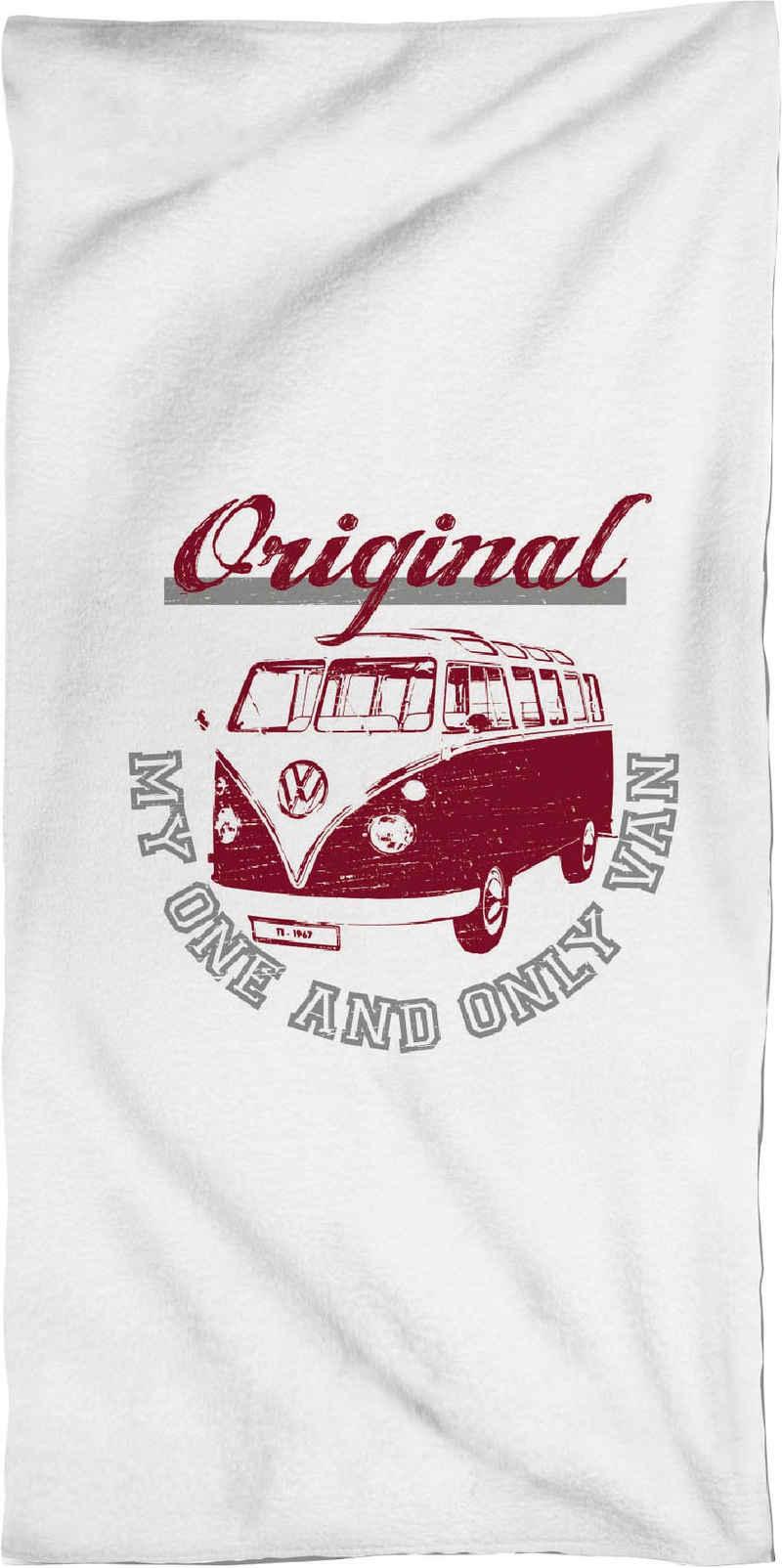 Volkswagen Strandtuch »My one and only van« (1-St), mit VW Bus