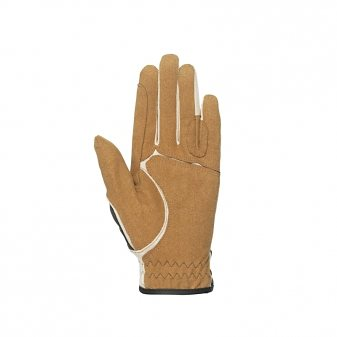 Horze Lederhandschuhe »Horze Elizabeth Synthetic Lederhandschuhe« in Schokoladenbraun