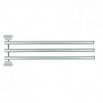 Horze Deckenhalter »Horze 3-teiliger, faltbarer Deckenhalter« in Silber