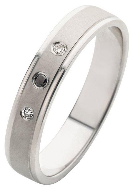 Firetti Trauring mit Gravur »4,0 mm, seidenmatt, Diamantschnitt, Silber«, Made in Germany   Schmuck > Ringe > Trauringe   Firetti