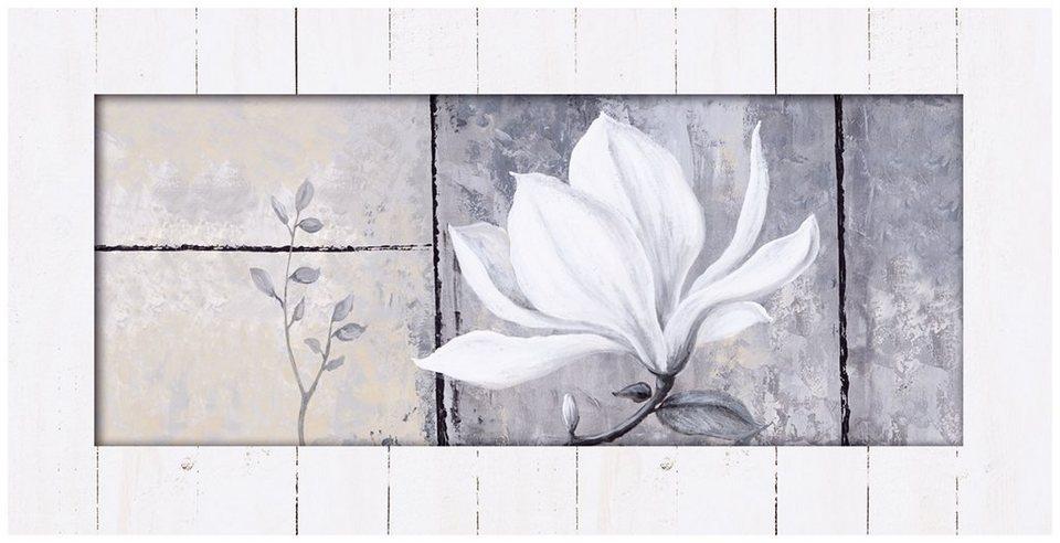 Kunstdruck, Home affaire, 102/52 cm in weiß