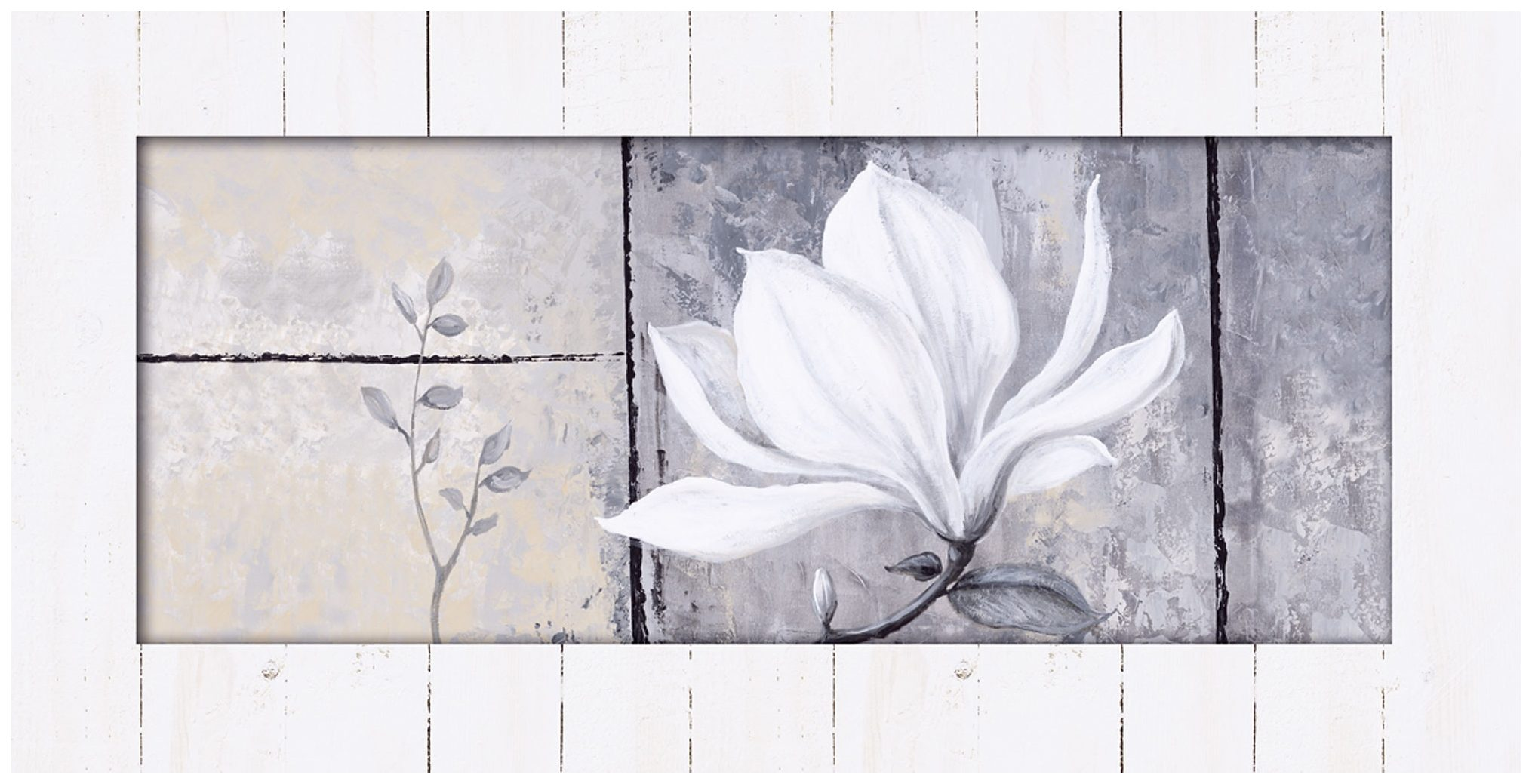 Home affaire, Kunstdruck, »Classic Magnolia«, 102/52 cm