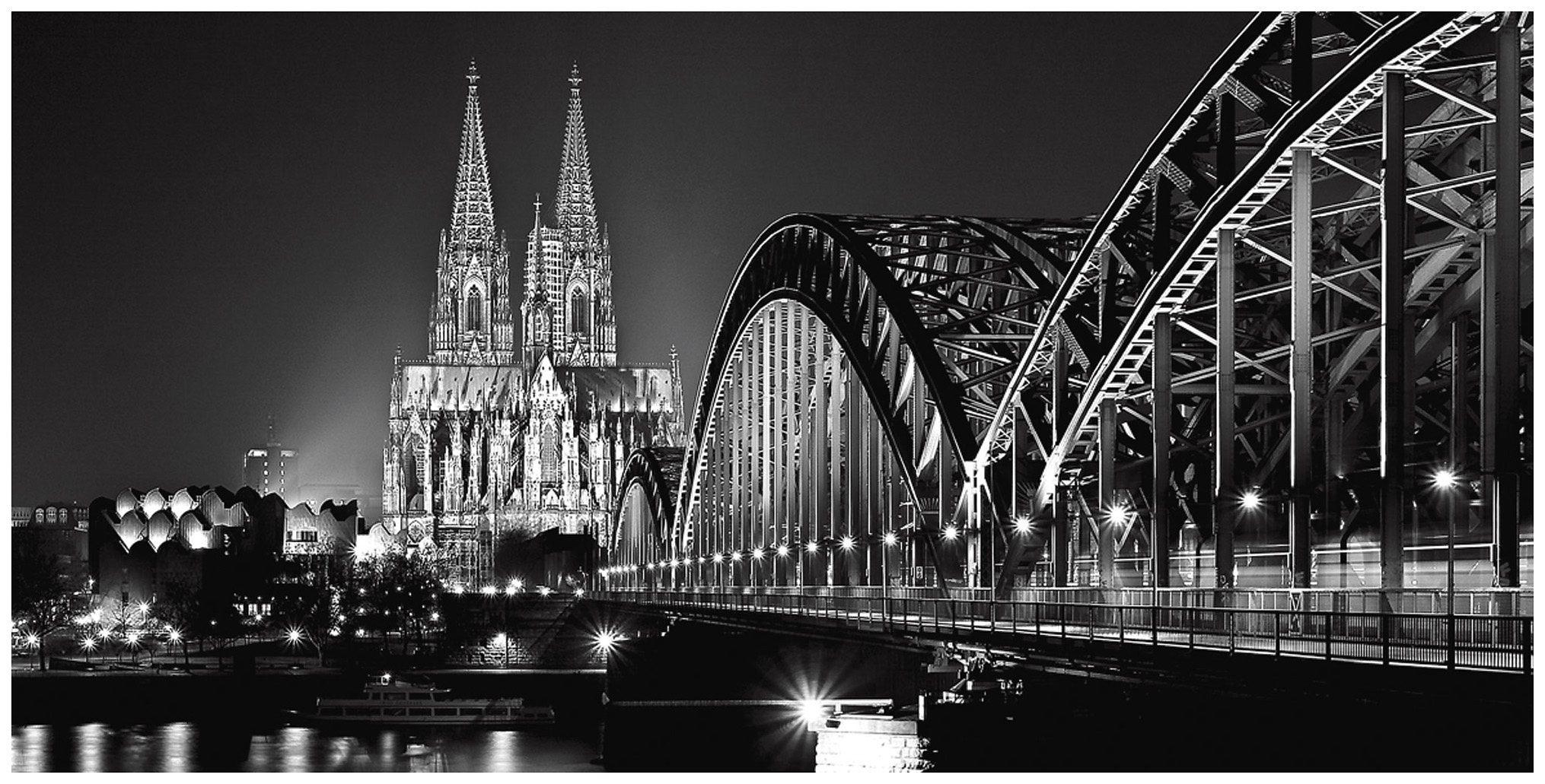 Home affaire Leinwandbild »Kölner Dom«, Stadt, 100/50 cm