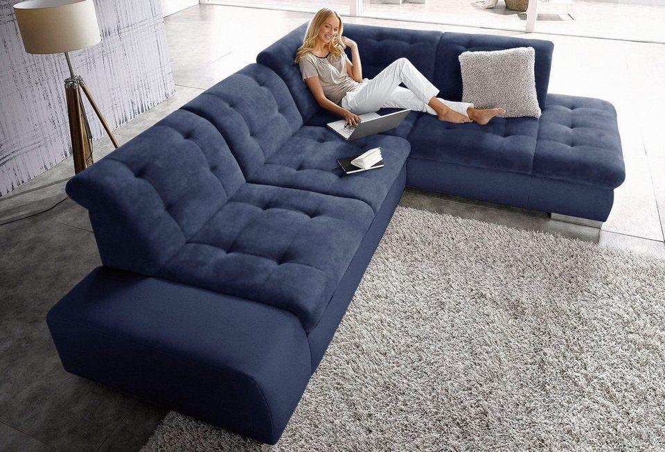 sit&more Polsterecke, wahlweise mit Bettfunktion   OTTO