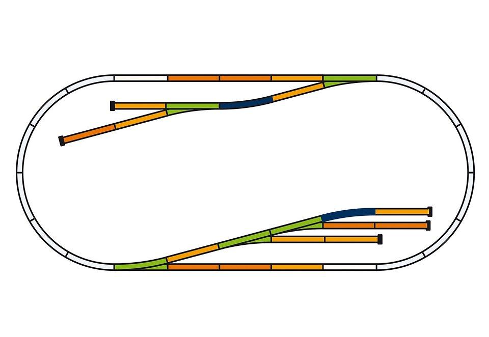 PIKO®, Gleise-Set D »Güterbahnhof - 55330«, Spur H0
