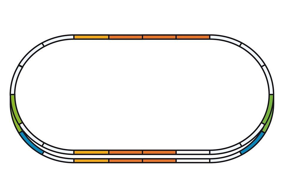 PIKO®, Gleise-Set E »Parallelgleis-Set - 55340«, Spur H0