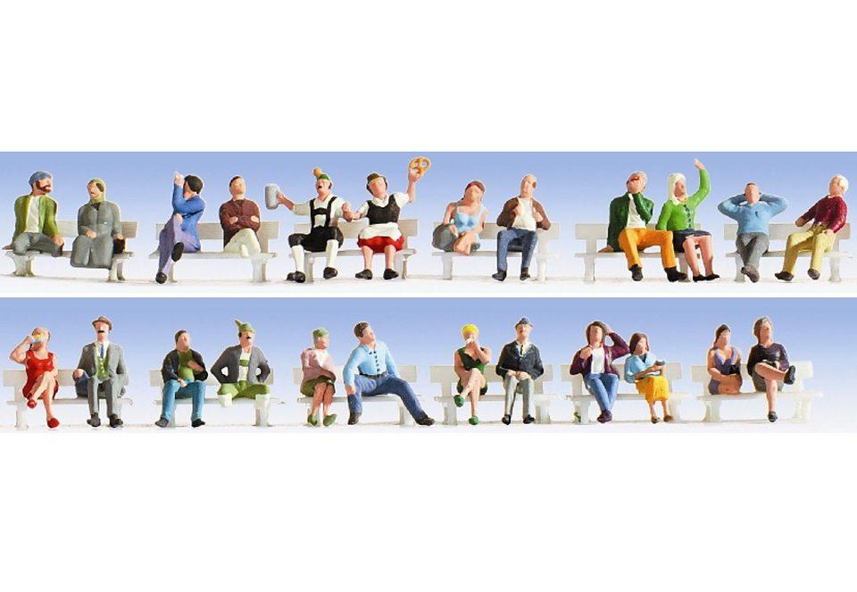 Figuren-XL Set, NOCH, »Sitzende - 16103«, Spurweite H0