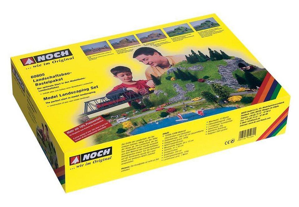 Landschaftsbau-Bastelpaket, NOCH, »60805«, Spurweite H0 in bunt