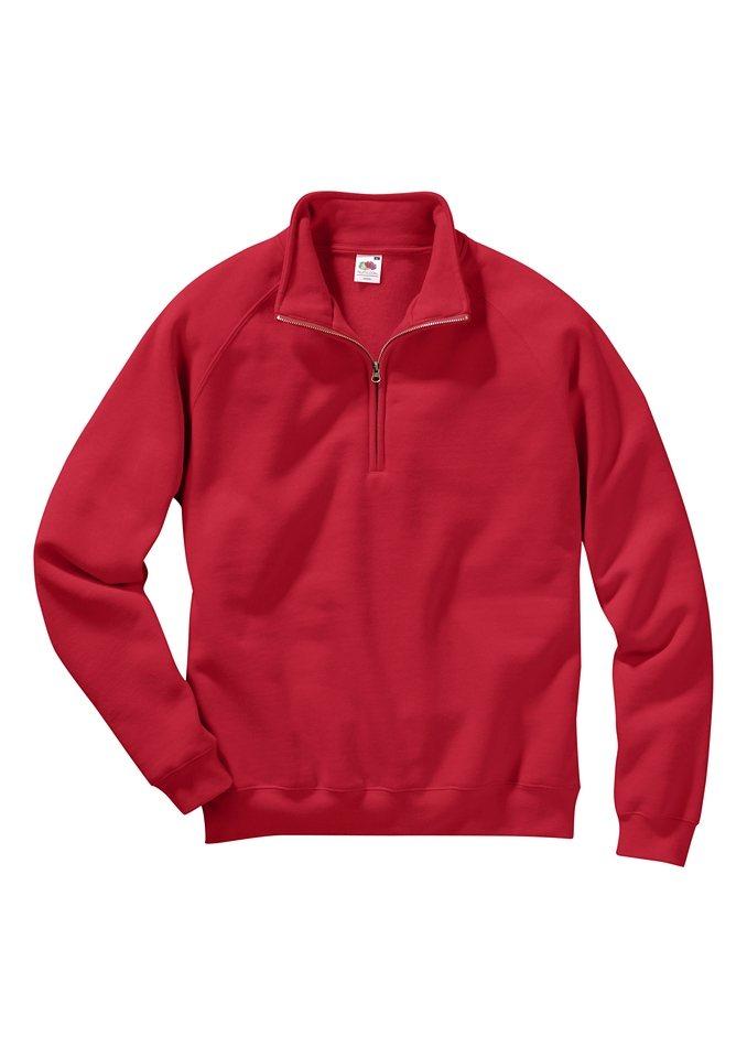 Fruit Of The Loom Pullover für Sie und Ihn in rot