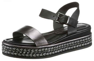 MARCO TOZZI Sandale mit Ziernieten an der Sohle