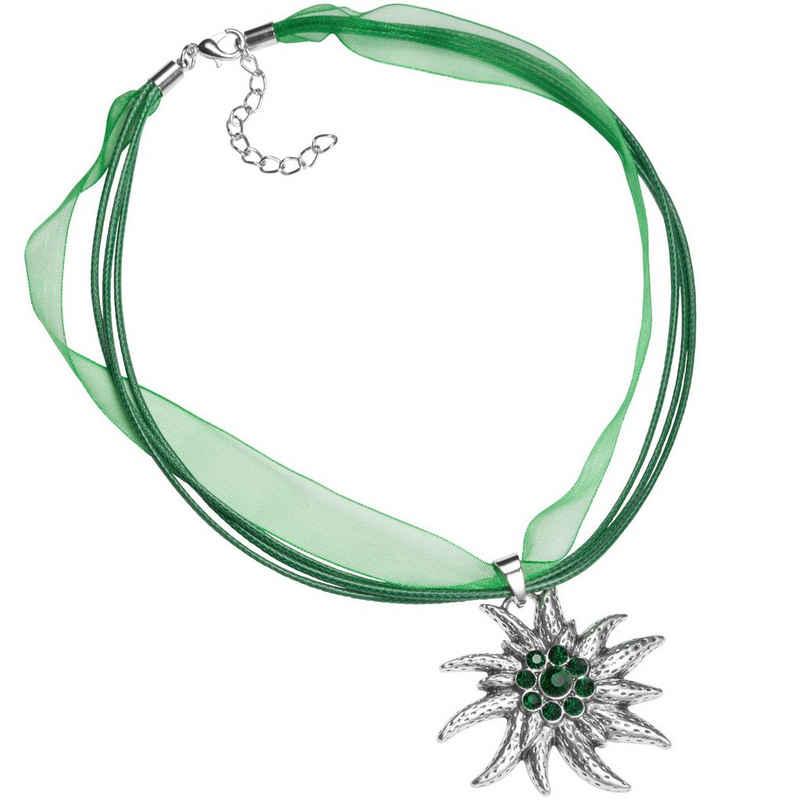 dressforfun Halsband »Halskette Edelweiß«