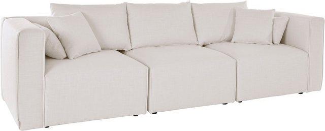 Sofas - Guido Maria Kretschmer Home Living 3 Sitzer »Marble«, zusammengesetzt aus Modulen, in 3 Bezugsqualitäten und vielen Farben möglich  - Onlineshop OTTO