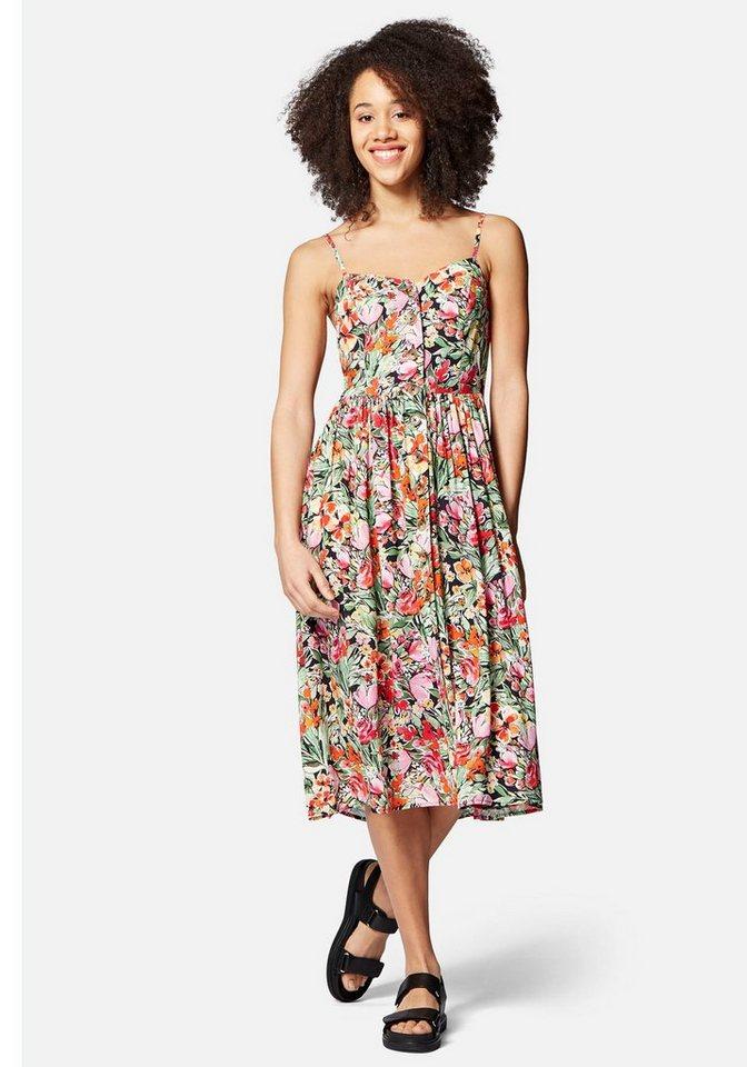 mavi -  Blusenkleid »BUTTON DRESS« mit Blumenmuster