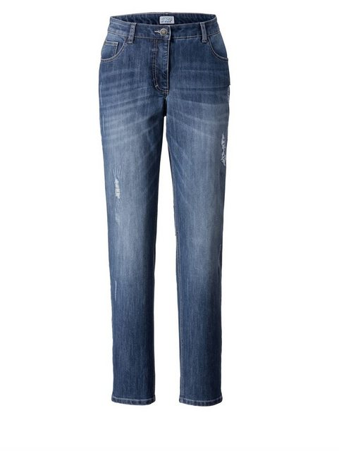 Hosen - Angel of Style by Happy Size Slim Fit Jeans › blau  - Onlineshop OTTO
