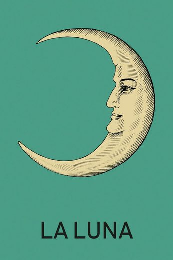 queence Leinwandbild »LA LUNA«