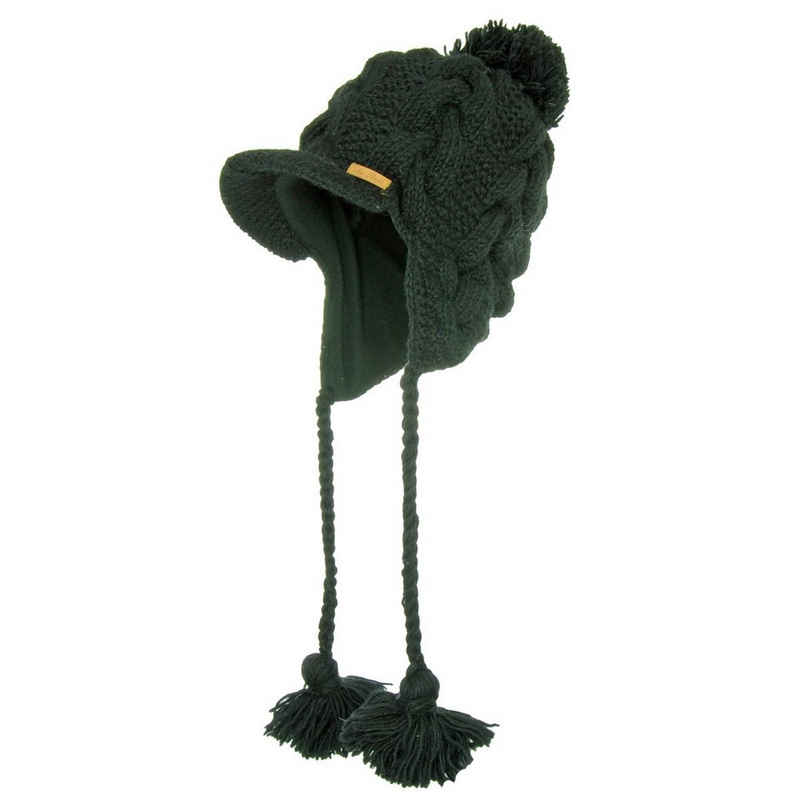 McRon Strickmütze »Wollmütze Modell Susi« gefüttert mit Fleece