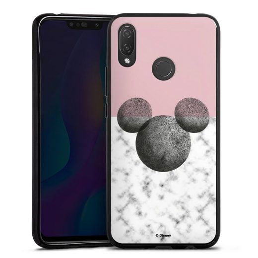 DeinDesign Handyhülle »Mickey Mouse Marmor« Huawei P Smart Plus, Hülle Disney Marmor Minnie Mouse