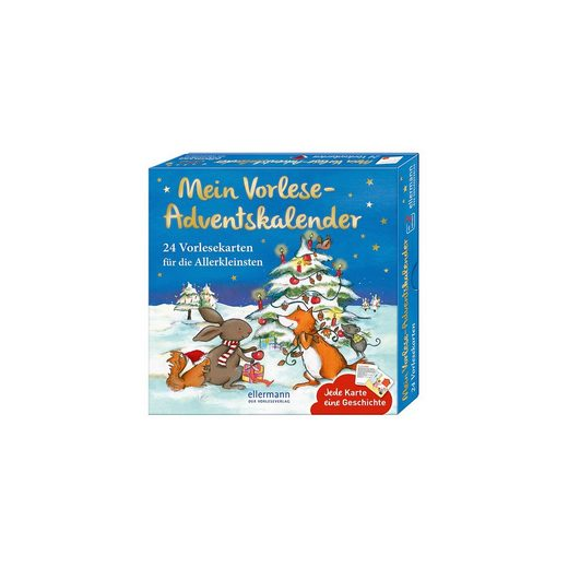 Oetinger Mein Vorlese-Adventskalender