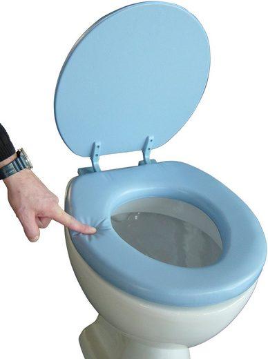ADOB WC-Sitz »Soft«, gepolstert aus Schaumstoff