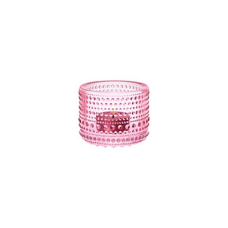 IITTALA Teelichthalter »Teelichthalter KASTEHELMI hellrosa 6.4 cm«