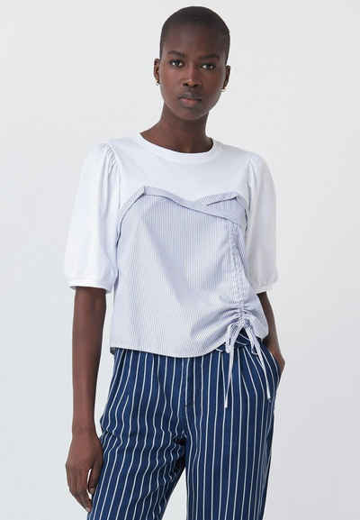 Salsa Kurzarmshirt »AUSTRIA« Slim T-Shirt Short Sleeve