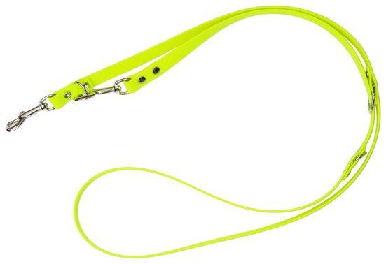 HEIM Hundeleine »Biothane«, neongelb, B: 1,3 cm, in 2 Längen